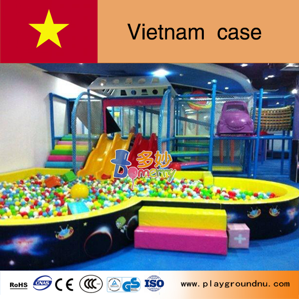 Vietnam Royal City Vincom Mega Mall kids indoor naughty castle playground games