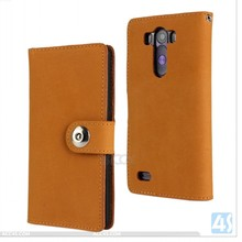 Acc4s smartphone accessories 2014 Genuine Leather Wallet Cases for LG G3 P-LGG3PUCA013