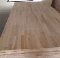 Laminated paulownia finger joint board