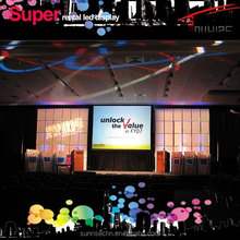 light weight SMD p3.91 p4.81indoor /outdoor led display for stage event and activity