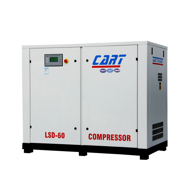 Best price 45KW 60HP direct driven screw air compressor