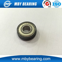 Non-Standard 608-ZZ with black rubber seal wrap Ball Bearing Miniature Bearing