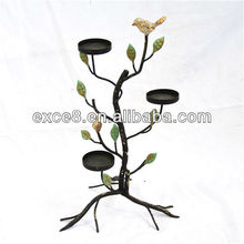 13A181NV-tree branch metal candle holder stand
