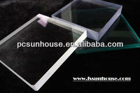 polycarbonate panels/solid pc sheet/100% virgin Bayer lexan material