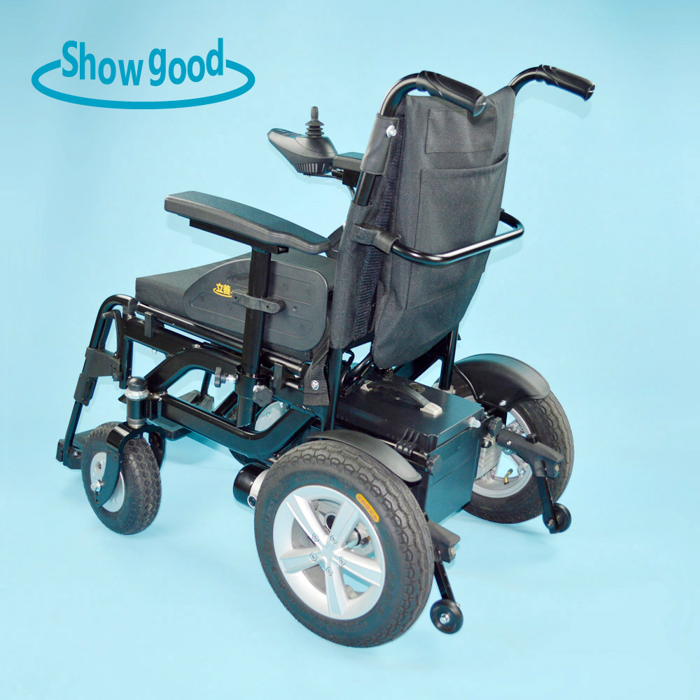 showgood latest price disability equipment electric wheelchair for handicapped