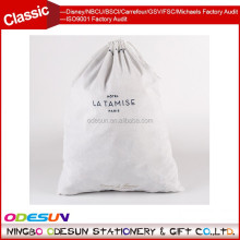 Michaels Sedex FSC Big Lots and ISO 9001 Factory Audit Manufacturer wholesale organic cotton drawstring bag