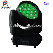 19*12W led club lights moving heads with zoom