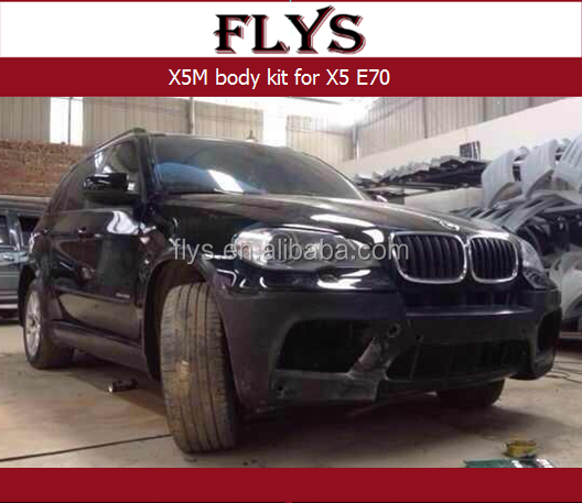 Upgrade kit X5M style body kit for E70 X5 Make your X5 look like the awesome