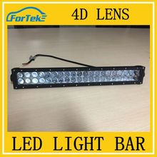 China wholesale double Rows spotlight 4D lens cr*ee offroad led light bar cover