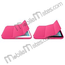 High Quality Original Leather Smart Cover for Apple iPad Air Smart Case with Logo