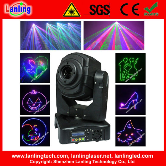RGB Laser Projector | Moving Head Light | Moving Head Laser