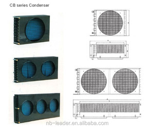 CB series cold room Fin type air cooled condenser