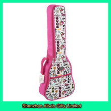 Girls fancy popular colorful guitar case,fabric for guitar case