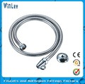 Stainless steel double lock washing hose
