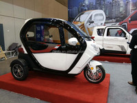 closed passenger tricycle 2 door electric high speed mini car