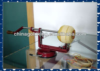 Manual cast iron kitchen apple peeler with suction base