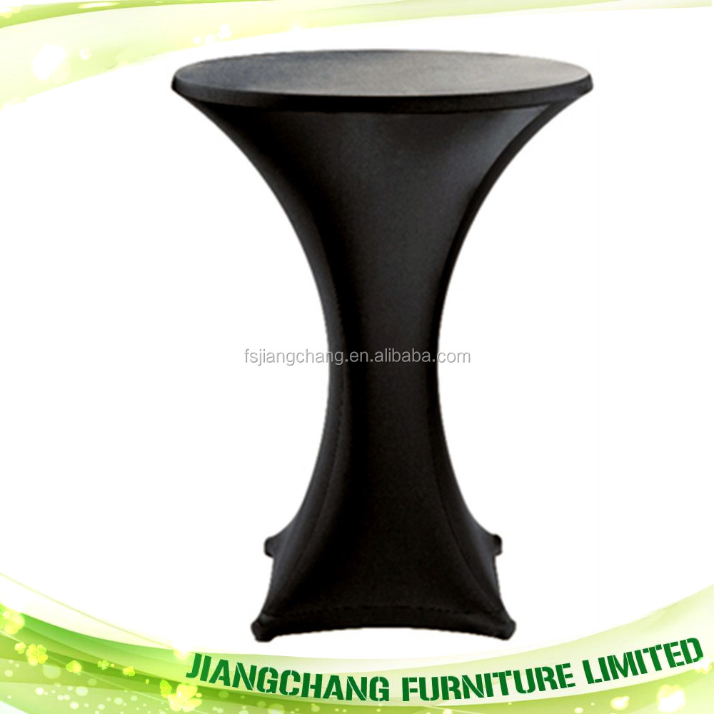 Manufacturers Wholesale Spandex Cocktail Table Cover JC-TS15