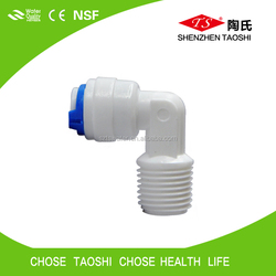 K4042 plastic ro quick fitting for connecting pe tube and membrane housing