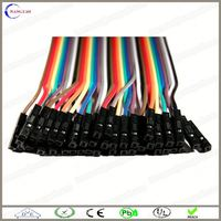 custom pvc cable 2 pairs jumper wire 0.5mm