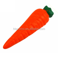 Carrot PU Foam Stress Toy Custom Stress Ball for Children Adult