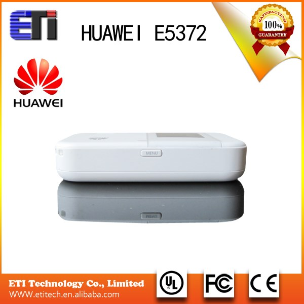 HUAWEI New Products E5372 HUAWEI Hot Sale E5372 huawei portable wifi modem 4G LTE wireless router VOIP 4 LAN Interfaces