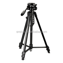 E-REISE Newest Black 3 Sections 67inch Leight Weight DSLR Camera Tripod For Outdoor Photography