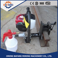 Handheld portable bore hole rail drilling machines for sale