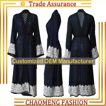 CM21# turkey cheap buy now for sale beaded kaftan dubai farasha muslimah lace maxi long kimono muslim dress