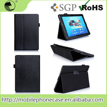 For Sony hot sale case 2015 New Product Android St Tablet PU Stand And Flip Leather Case For Sony Z4 10.1