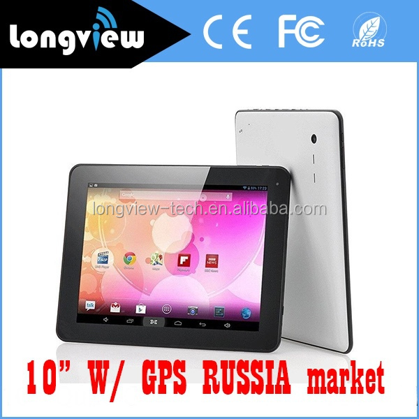 10.<strong>1</strong> inch Quad core Android 4.4 export tablet pc for Russia Market,1024*600, 1GB/16GB, with Build-in GPS/Bluetooth4.0/H D <strong>M</strong> I/FM