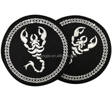 Embroidery Patches Custom Sequin Embroidered Patches for Clothing
