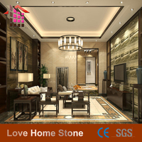 Cheap Grey Stone Wall Flooring Tile Silver Grey Travertine Marble