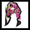 2014 latest style spring print pure china raw silk stock scarf for wholesale