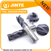end mill type and TiAIN coating thread end milling cutter