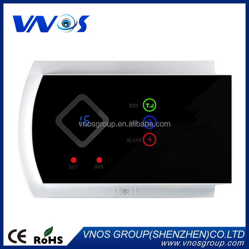 Newest hot selling boundary gsm sms security alarm system