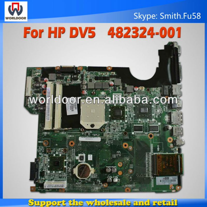 For HP DV5 482324-001 Laptop Motherboard with fully tested