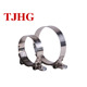 China factory manufacturer Customized stainless steel T type Hose clamp