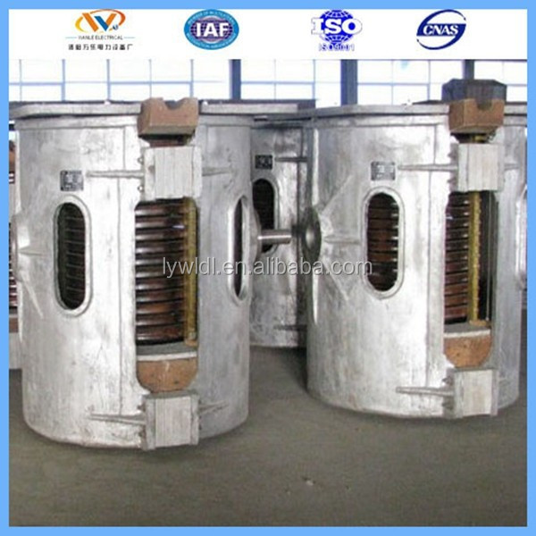 1.5ton China Supplier Factory price pig iron melting machine (Parallel Connection)