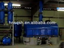 The Waste Diesel Recycling Equipment Which controlled By Vaccum System Completely