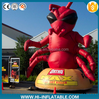 outdoor advertising inflatable red ant cartoon/inflatable advertising