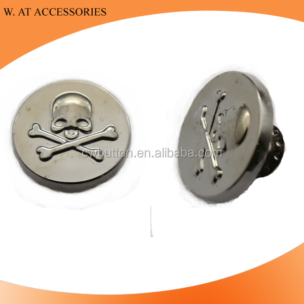 Fashion metal jeans buttons manufacture