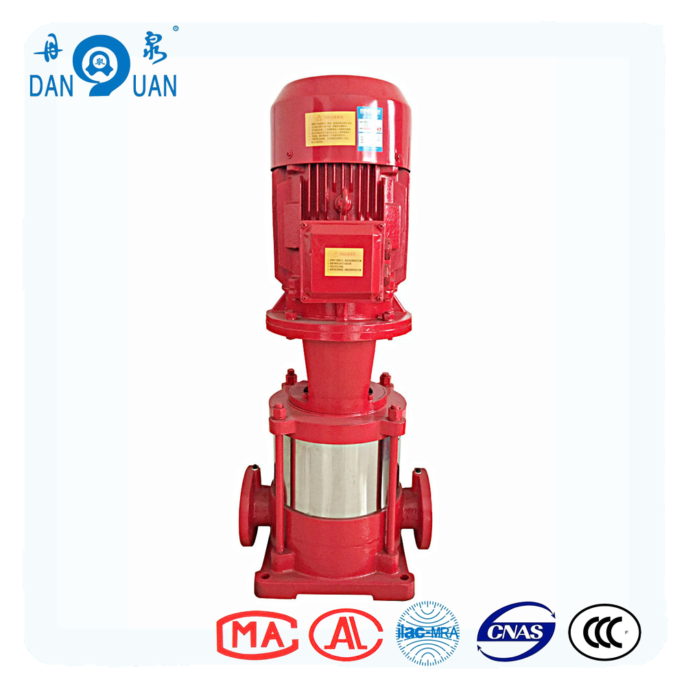 XBD Series Electric Motor Centrifugal Fire Fighting System Jockey Pumps