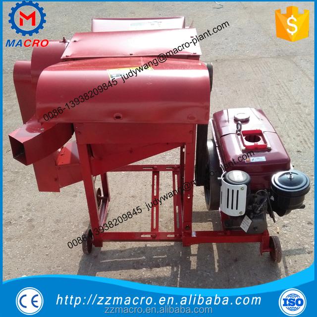 agricultural paddy/soybean/corn/wheat/sorghum thresher machine