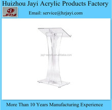 China supplier wholesale acrylic lecture stand and pulpit stand