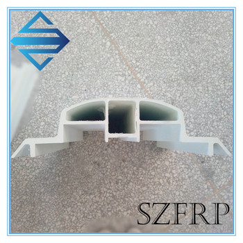 Customized frp/ grp Glass Fiber Special Shaped Pultruded FRP pultruded, profiles/product fiberglass