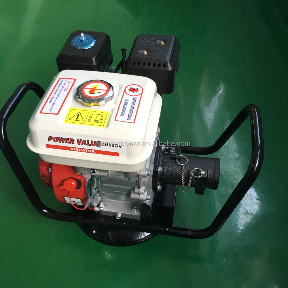 Genour Power ZH50GV Gasoline/petrol Concrete vibrators with 6.5hp engine and 45mm poker