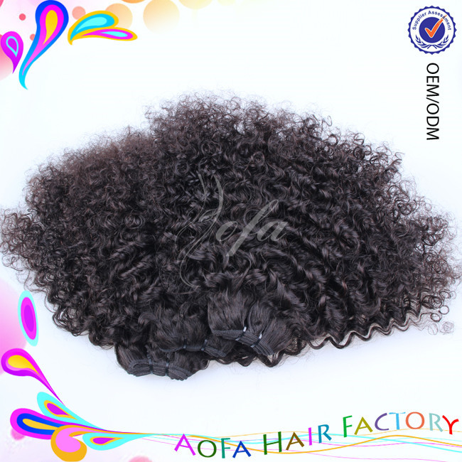 Direct factory supply new style 7a grade kinky curly sex vagina with hair