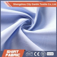 TC stripe oxford shirting fabric Wholesale