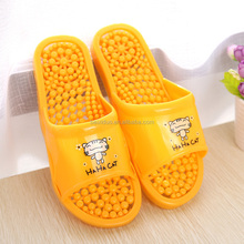 Beixiduo Women Household Slippers Sandals Massage Thick Bottom Indoor Bath Anti-skid Bathroom Slippers Hot Sale Free Shipping