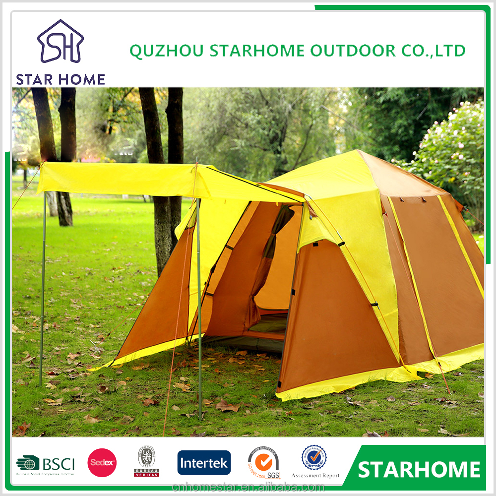 Easy to set up family luxury camping tent outdoor folding tent for camping